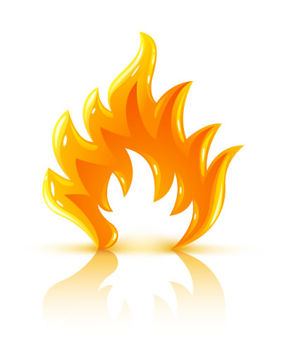 glossy-burning-fire-flame