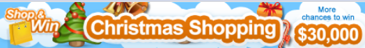 Great Shopping Christmas Banner